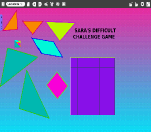 "View ""Sara's Difficult Challenge Game"" Etoys Project"