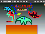 "View ""Catch as Catch Can: Tommy's Creatures"" Etoys Project"