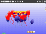 "View ""Welcome Balloons"" Etoys Project"